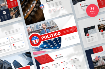 Political Election Campaign PowerPoint Presentation Template