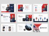 Political Election Campaign Presentation Candidates Slide