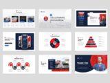 Political Election Campaign Presentation Infographics Slide