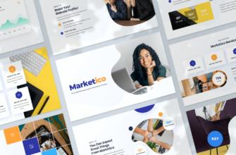 SEO & Digital Marketing Agency Keynote Presentation Template