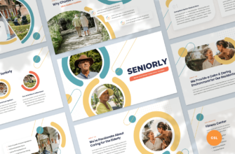 Senior Care Center Google Slides Presentation Template