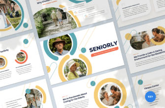 Senior Care Center Keynote Presentation Template