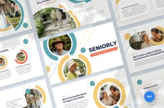 Senior Care Center Keynote Presentation Template