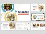 Senior Care Center Presentation About Us Slide
