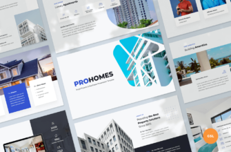 Single Property & Real Estate Google Slides Presentation Template