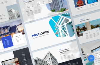 Single Property & Real Estate Keynote Presentation Template