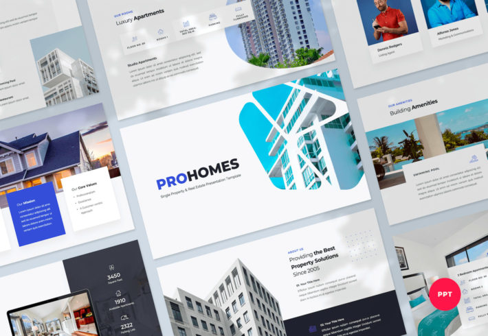 Single Property & Real Estate PowerPoint Presentation Template