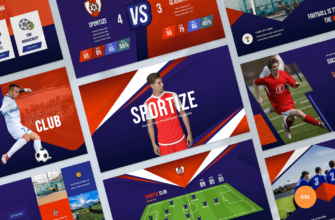 Soccer & Football Club Google Slides Presentation Template
