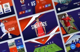 Soccer & Football Club Keynote Presentation Template