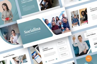 Social Media Marketing Google Slides Presentation Template