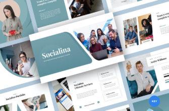 Social Media Marketing Keynote Presentation Template