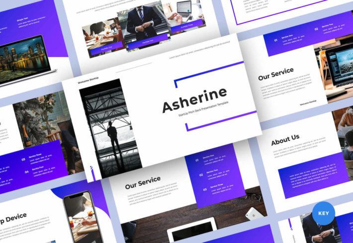 StartUp Pitch Deck Keynote Presentation Template
