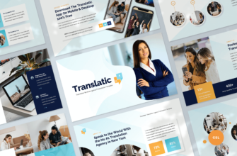 Translation Agency Google Slides Presentation Template
