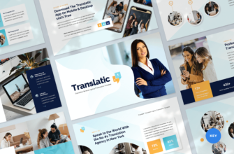 Translation Agency Keynote Presentation Template