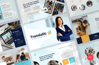 Translation Agency PowerPoint Presentation Template