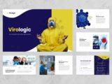 Virus Education Presentation Introduction Slide