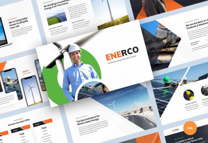 Wind & Solar Energy Google Slides Presentation Template
