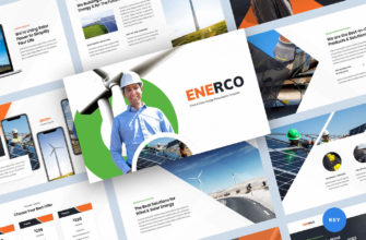 Wind & Solar Energy Keynote Presentation Template