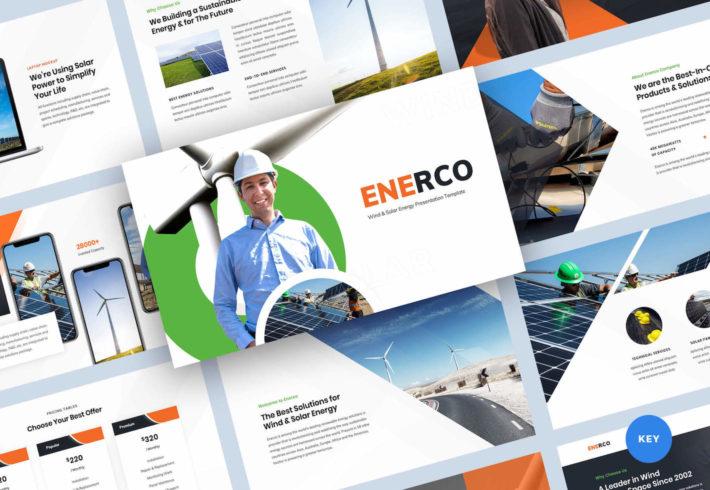 Wind & Solar Energy Keynote Presentation Template
