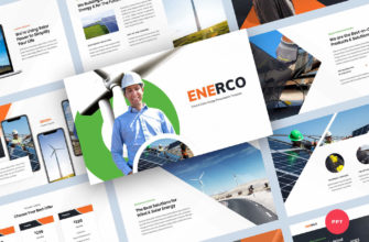 Wind & Solar Energy PowerPoint Presentation Template