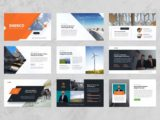 Wind & Solar Energy Presentation About Us Slide