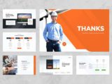 Wind & Solar Energy Presentation Contact Us Slide