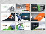 Wind & Solar Energy Presentation Covers Slide
