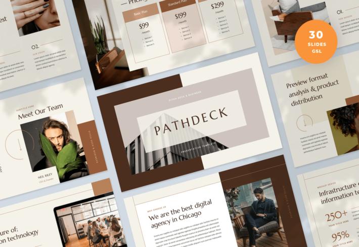 Pitch Deck & Business Google Slides Presentation Template