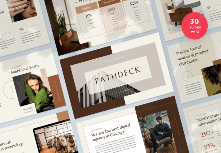 Pitch Deck & Business PowerPoint Presentation Template