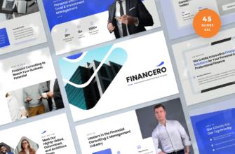 Financero – Investment & Finance Google Slides Presentation Template