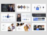 Investment & Finance Presentation Team Slide