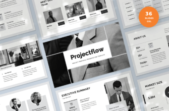 Projectflow – Project Proposal Google Slides Presentation Template