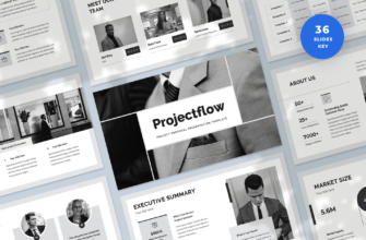 Projectflow – Project Proposal Keynote Presentation Template