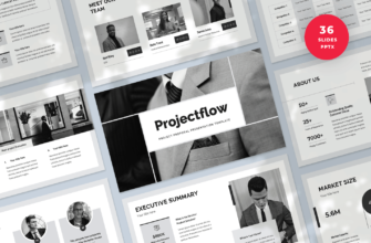 Projectflow – Project Proposal PowerPoint Presentation Template