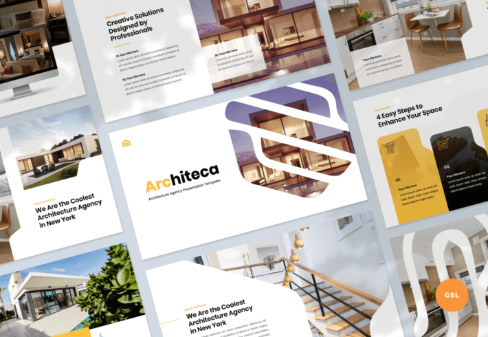 Architeca – Architecture Agency Google Slides Presentation Template