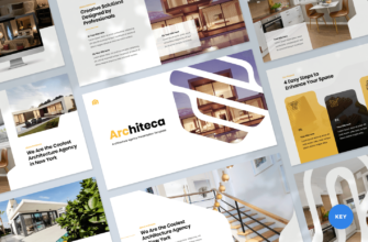Architeca – Architecture Agency Keynote Presentation Template