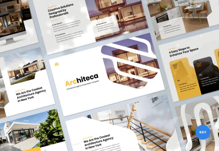 Architeca – Architecture Agency Keynote Presentation Template