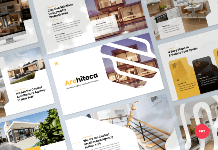 Architeca – Architecture Agency PowerPoint Presentation Template