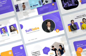 Softlabs – IT Solutions & Services Google Slides Presentation Template