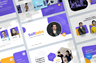 Softlabs – IT Solutions & Services Keynote Presentation Template
