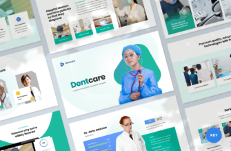 Dentcare – Dentist & Dental Clinic Keynote Presentation Template