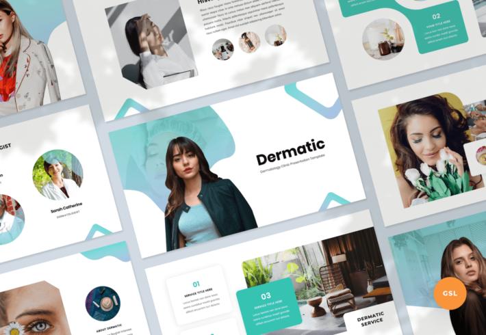 Dermatic – Dermatology Google Slides Presentation Template