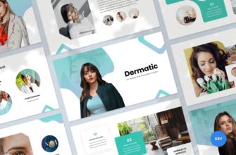 Dermatic – Dermatology Keynote Presentation Template