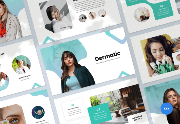 Dermatic – Dermatology Keynote Presentation Template