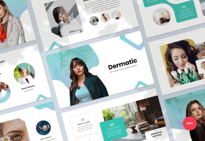 Dermatic – Dermatology PowerPoint Presentation Template