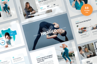 Healico – Health Coaching Google Slides Presentation Template