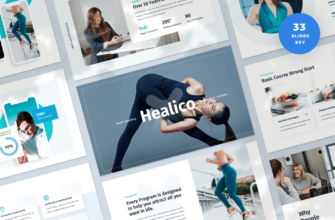 Healico – Health Coaching Keynote Presentation Template