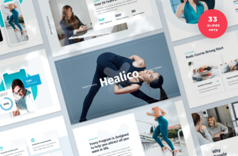 Healico – Health Coaching PowerPoint Presentation Template