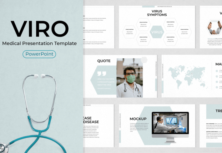 Viro – Medical PowerPoint Presentation Template