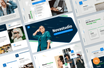Novastudio – Client Welcome Guide Google Slides Presentation Template
